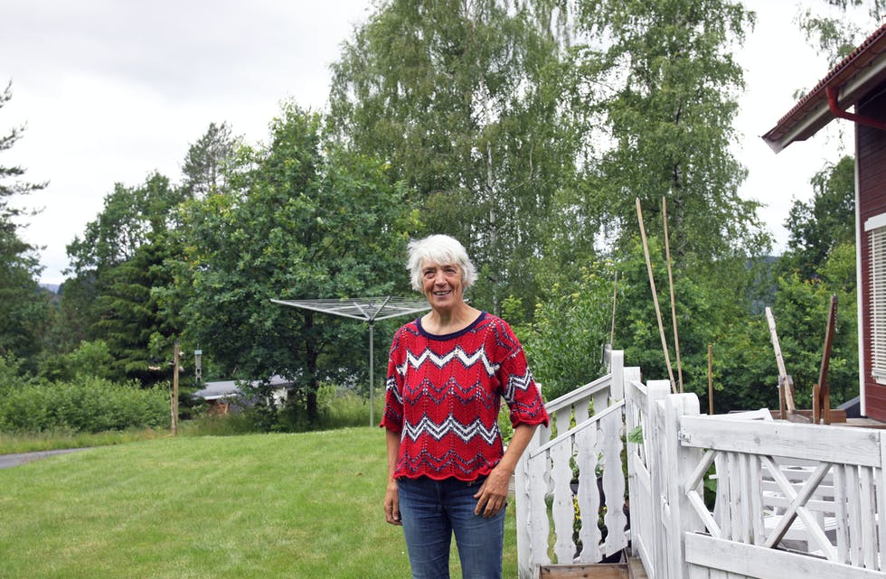Fikk advarsler: Elisabeth fikk advarsler fra folk i bygda da hun ville bygge hus i Haslerudvegen. - Jeg forsto at stedet ikke hadde et renommé, men et rykte.