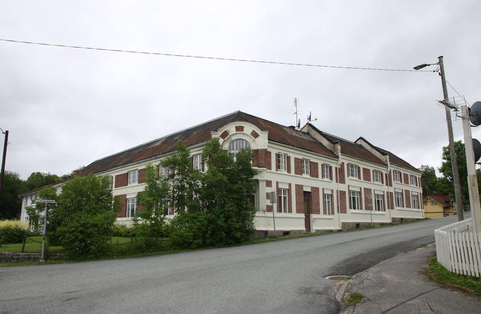 Posthusgården på Krøsset.