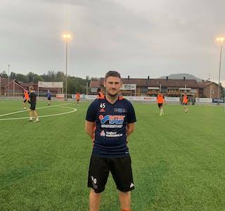 Trener for Nome fotballs herrer, Bernt Skipstad Ollestad.