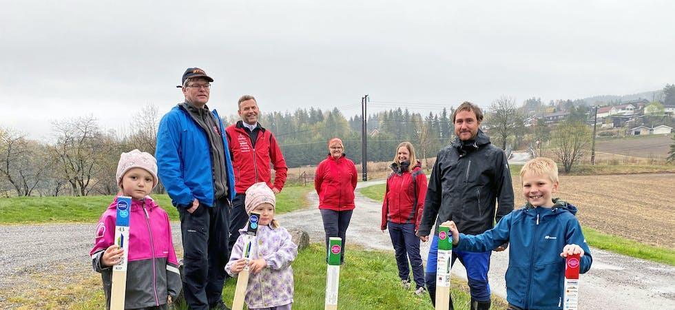 Suksess: I mai introduserte Skades O-gruppe og Ulefoss turlag Stolpejakten for Nomes befolkning. Nå har aktiviteten blitt en suksess med over 20 tusen registreringer.