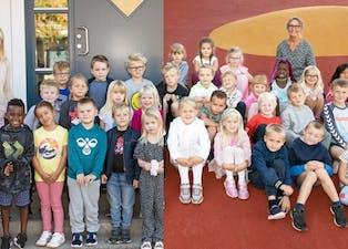 årets førsteklassinger holla og lunde 2021