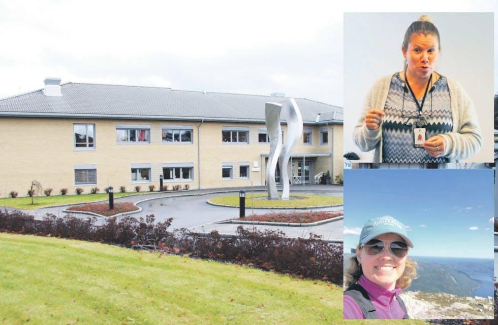 får de skaffet nok: Når Nome sjukeheim skal utvides, vil det bli behov for å rekruttere mange nye sykepleiere og helsefagarbeidere. Men allerede i dag er det krevende å skaffe nok folk. Innfelt ser vi Anne Marie Gramstad (øverst) og ny helsesjef Lillian Opedal.