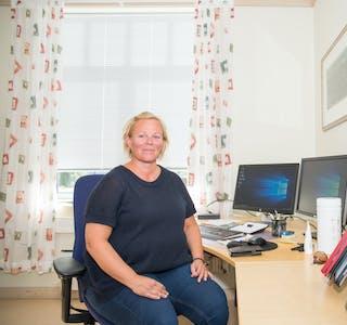 Rektor i Lunde, Renate Mentzoni.