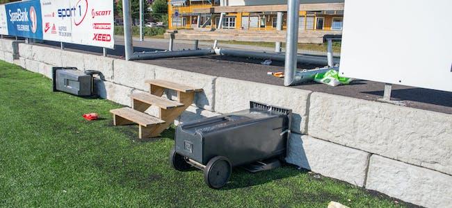 Idrettsanlegget til USF utsettes for hærverk og forsøpling, og problemene har tiltatt den siste tiden.