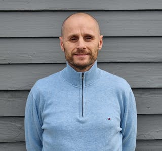 Arne Grave, ny rektor ved Nome videregående.