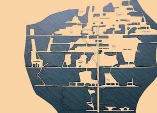 Denne illustrasjonen viser hvorfor en gjerne sier at Gruveåsen er gjennomhullet som en sveitserost.