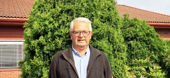 Leder i Samfunnsutviklingsutvalget, John Harald Rønningen (SP), vil be om en orientering i saken om vann- og avløpsavgiften.