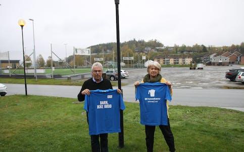 Varaordfører Anders Hjelseth og ordfører Bjørg Tveito Lundefaret trenger din hjelp.